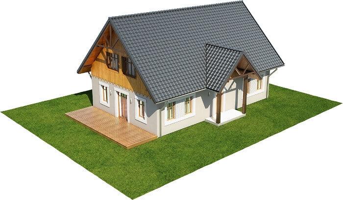 Projekt domu DM-6607 - model