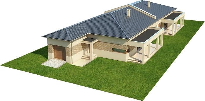 Projekt domu DM-6526 - model