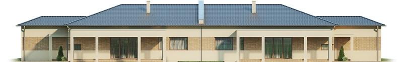 Projekt domu DM-6526 - elewacja