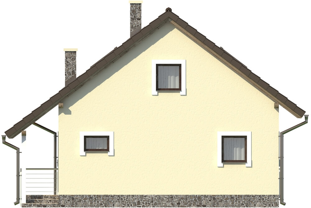 Projekt domu DM-6223 - elewacja