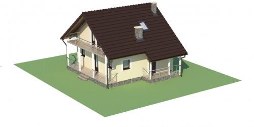 Projekt domu DM-6223 - model