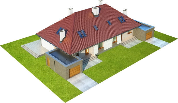 Projekt domu DM-6540 - model
