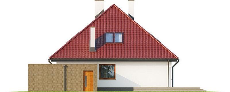 Projekt domu DM-6540 - elewacja