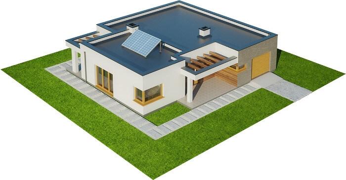 Projekt domu DM-6621 - model