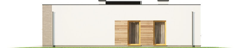 Projekt domu DM-6621 - elewacja