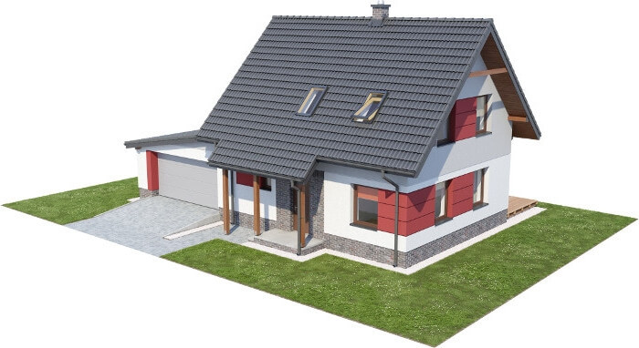 Projekt domu L-6525 - model
