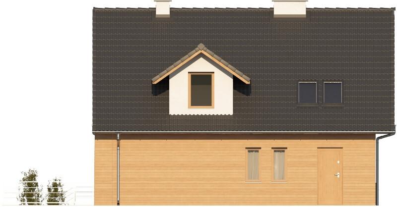 Projekt domu L-6611 - elewacja