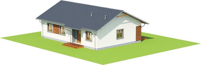 Projekt domu L-6616 - model