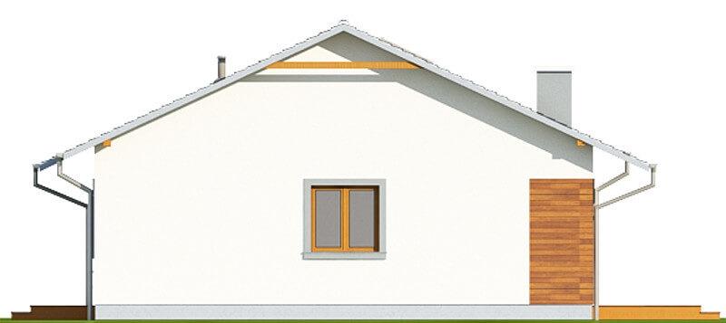 Projekt domu L-6616 - elewacja