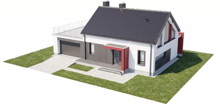 Projekt domu DM-6620 - model