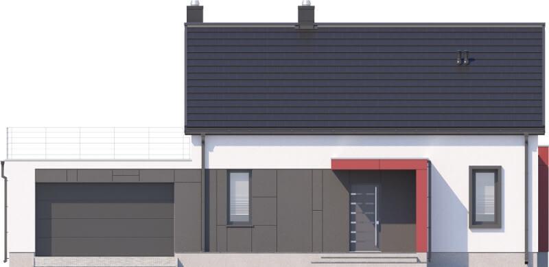 Projekt domu DM-6620 - elewacja