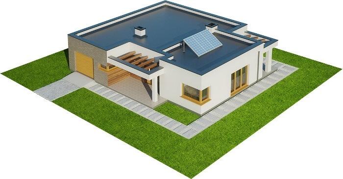 Projekt domu L-6621 - model