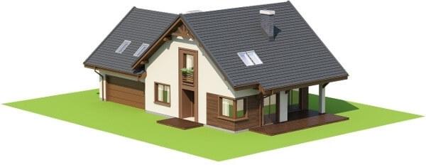 Projekt domu L-6524 - model
