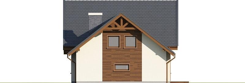 Projekt domu L-6524 - elewacja