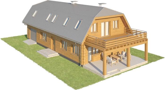 Projekt domu L-6606 - model