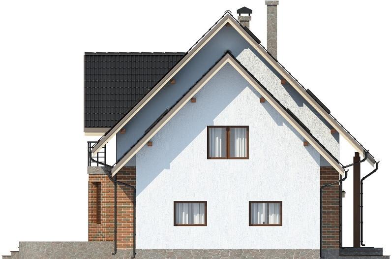 Projekt domu L-6610 - elewacja