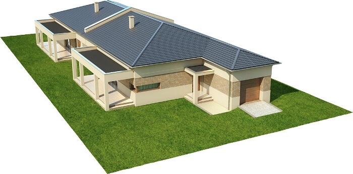 Projekt domu L-6526 - model
