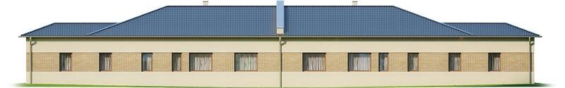 Projekt domu L-6526 - elewacja