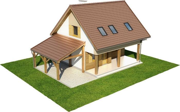 Projekt domu L-6609 - model
