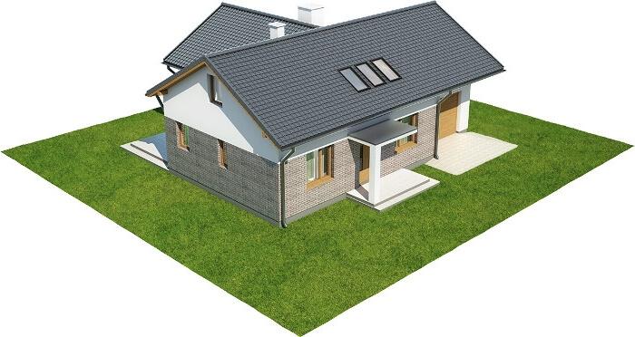 Projekt domu L-6619 - model
