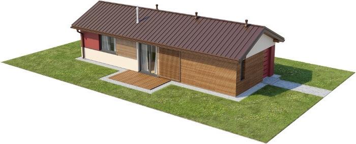 Projekt domu L-6633 - model