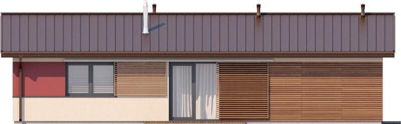 Projekt domu L-6633 - elewacja