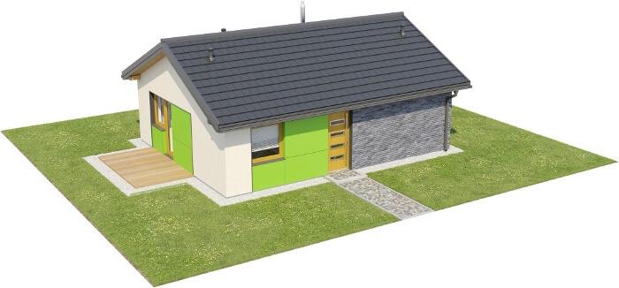 Projekt domu L-6632 - model