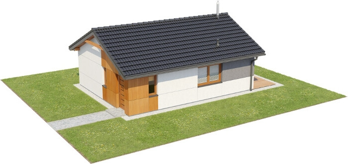 Projekt domu L-6634 - model
