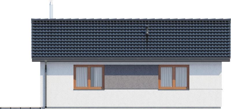 Projekt domu L-6634 - elewacja