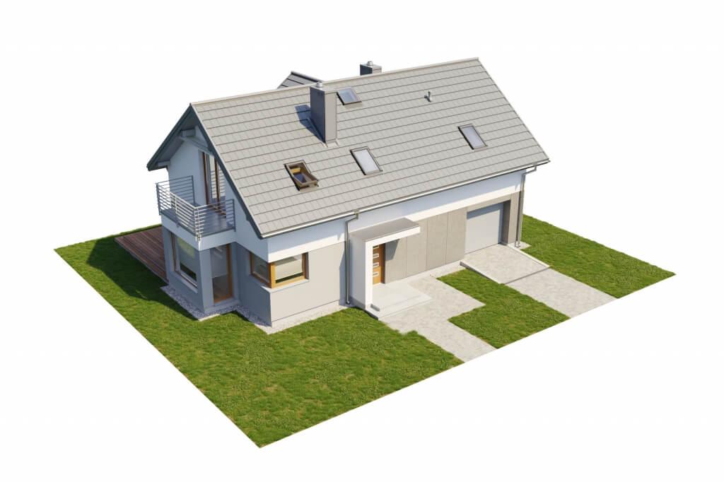 Projekt domu DM-6529 - model