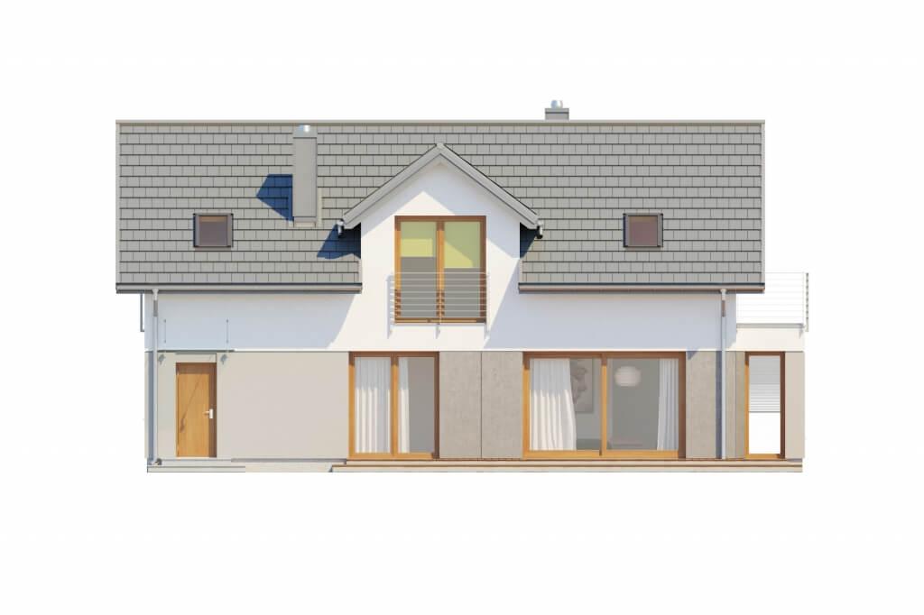 Projekt domu DM-6529 - elewacja