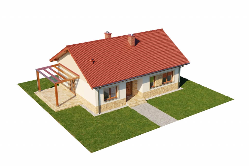 Projekt domu DM-6637 - model