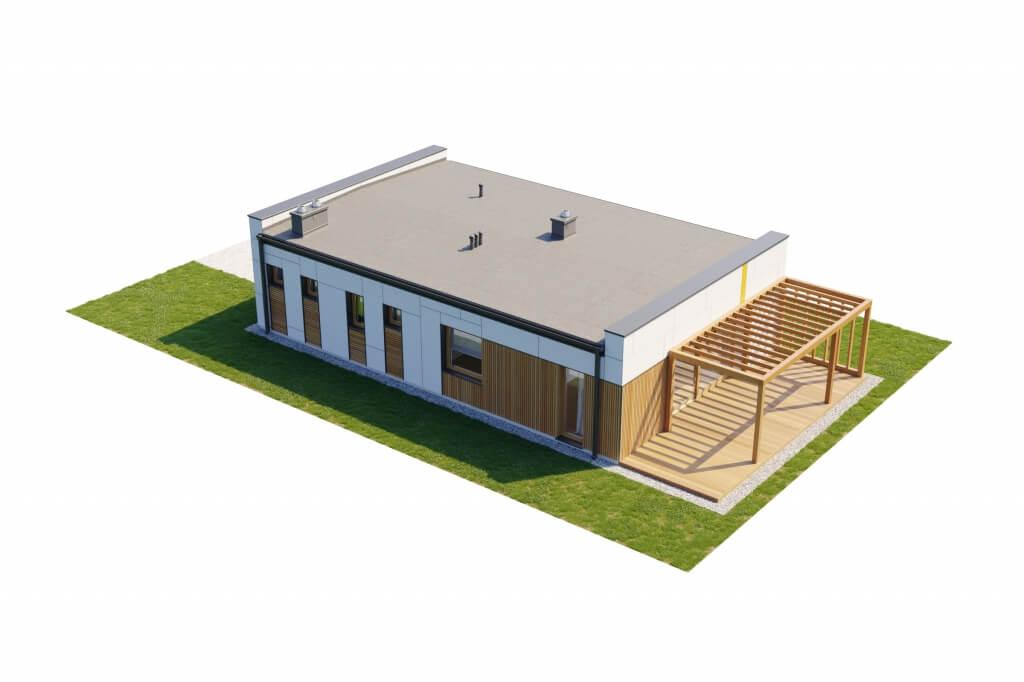 Projekt domu DM-6636 - model