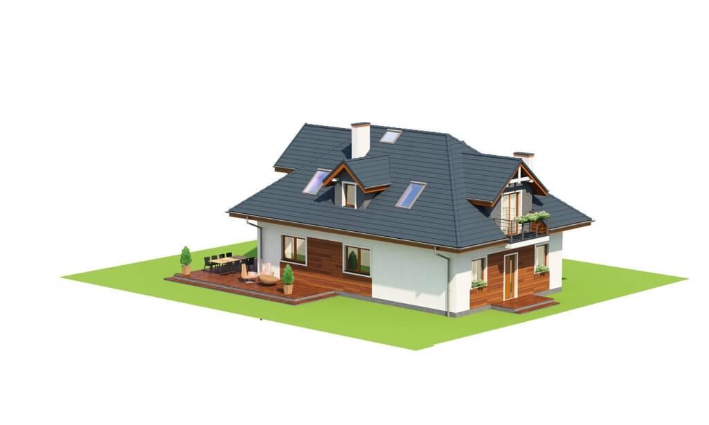Projekt domu DM-6624 - model