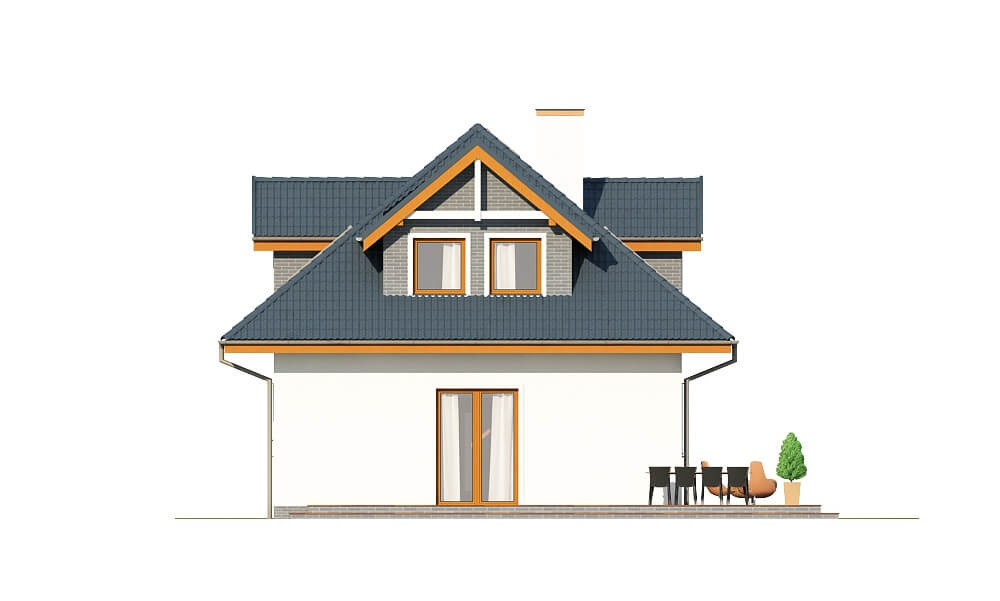 Projekt domu DM-6624 - elewacja