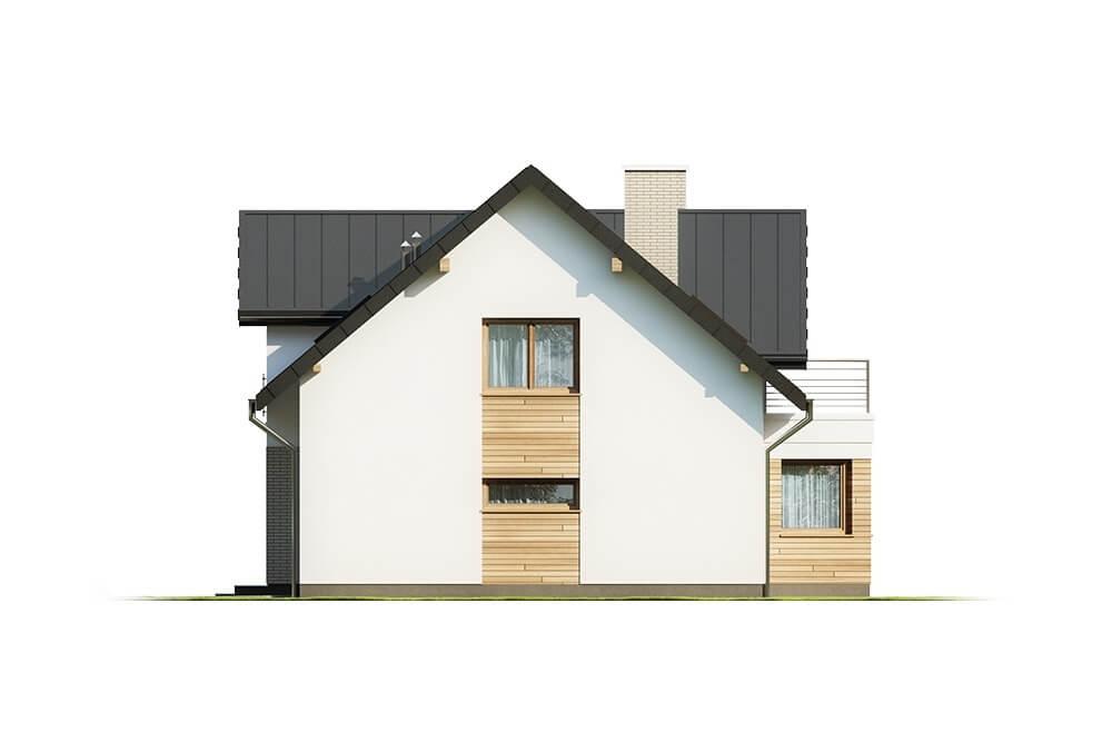 Projekt domu DM-6618 - elewacja