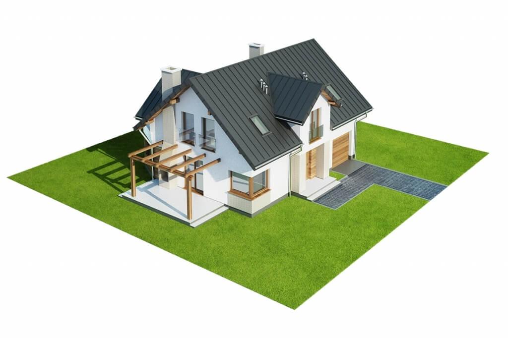 Projekt domu DM-6618 - model