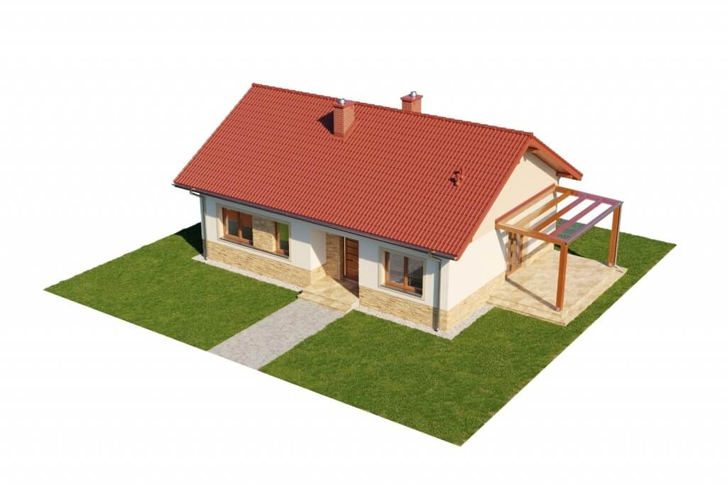 Projekt domu L-6637 - model