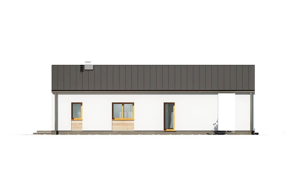 Projekt domu DM-6622 - elewacja
