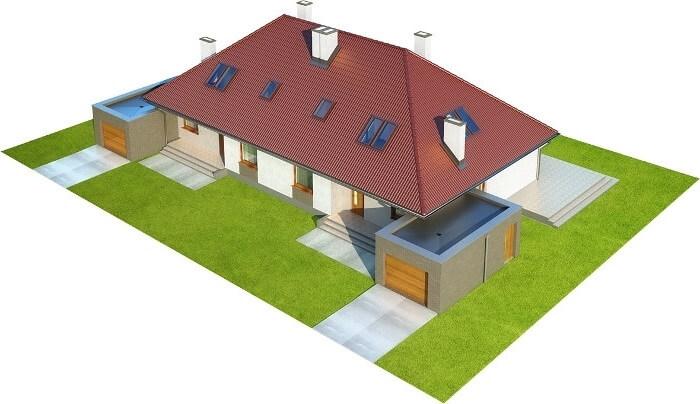 Projekt domu L-6540 - model