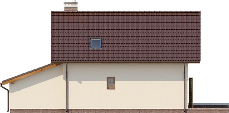 Projekt domu L-6527 - elewacja