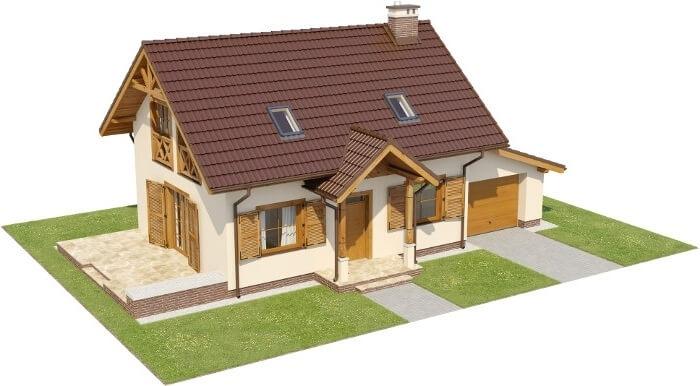 Projekt domu L-6527 - model