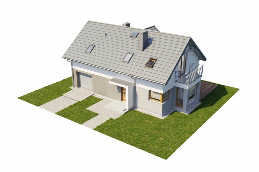 Projekt domu L-6529 - model