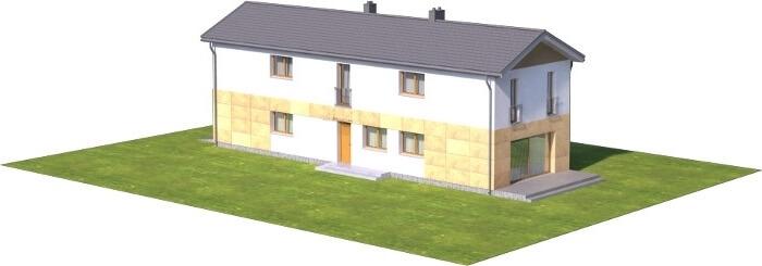 Projekt domu L-6597 - model