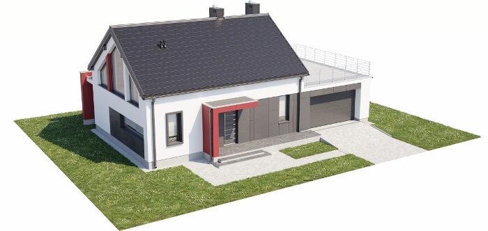 Projekt domu L-6620 - model