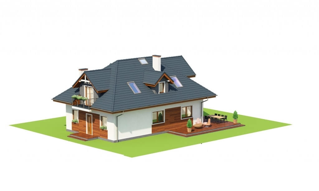 Projekt domu L-6624 - model