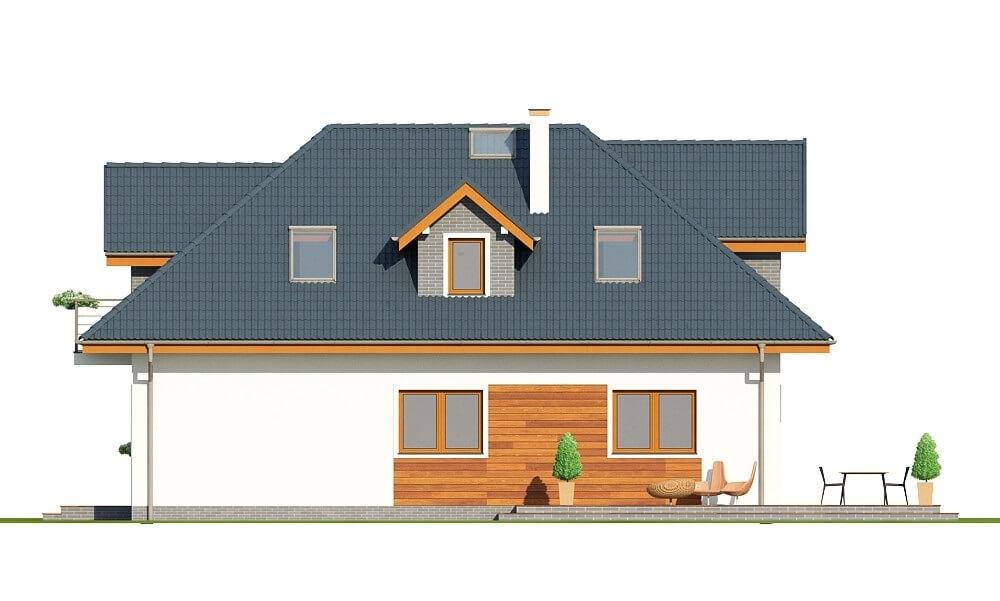 Projekt domu L-6624 - elewacja