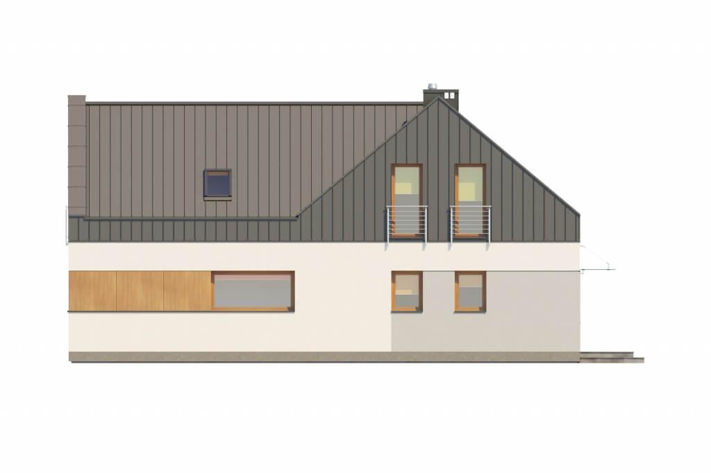 Projekt domu DM-6528 - elewacja