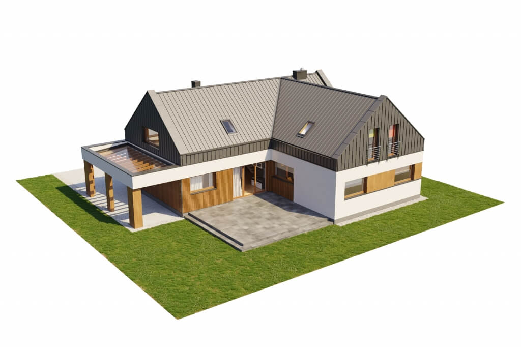 Projekt domu DM-6528 - model