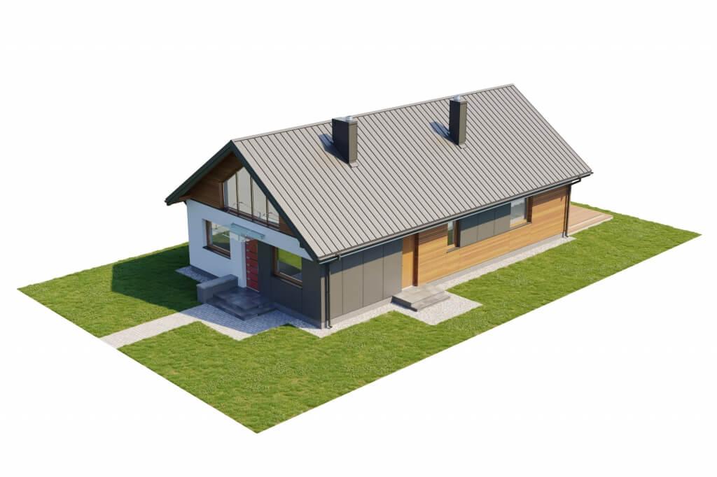 Projekt domu L-6596 B - model
